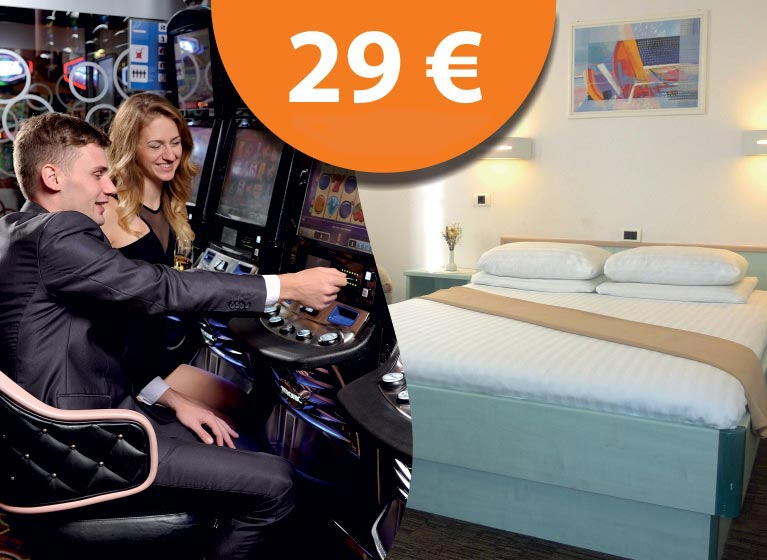 Casino & Hotel package at € 29 per day